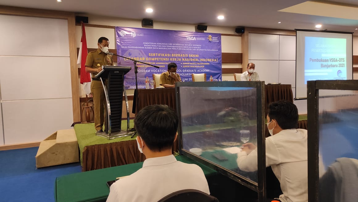 Pengembangan pelatihan skill teknologi di Banjarbaru
