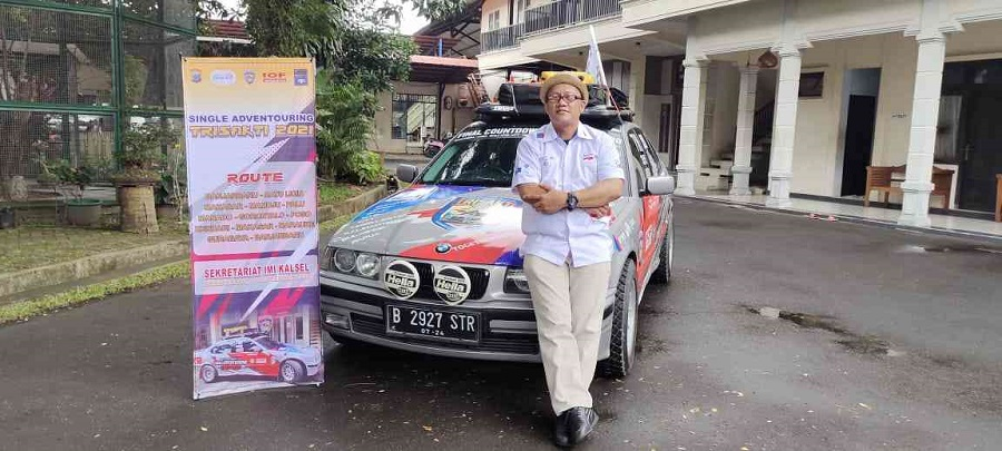 Kelilingi Tiga Pulau Indonesia, IMI Promosikan Wisata Kalsel