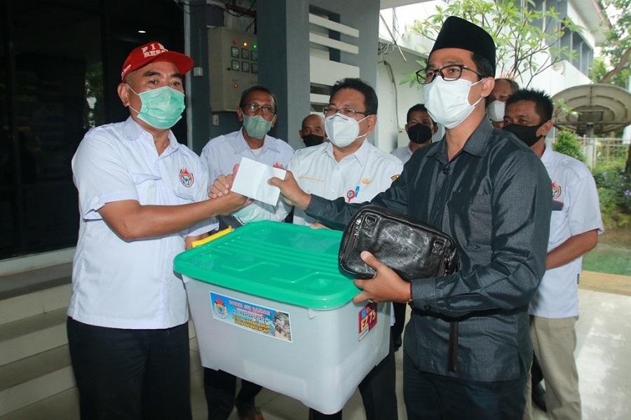 Buser 690 Banjar Berangkat Bantu Korban Banjir Katingan
